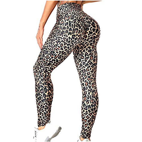 riou Leggings Push Up Mujer Mallas Pantalones Deportivos Mallas Camuflaje Pantalón Yoga,...