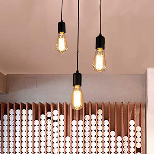 Oursun Kronleuchter Industrie Pendelleuchte Vintage Retro Spinne Lampe Hängend Deckenleuchte Hängelampe Pendellampe für Schlafzimmer Wohnzimmer Esszimmer (3 lights)