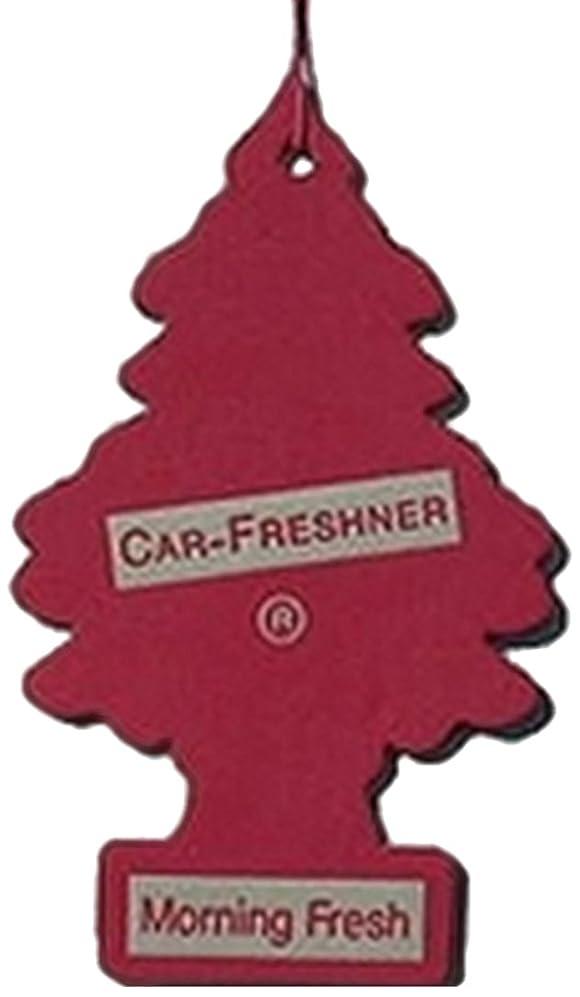 爪提案群衆Little Trees 吊下げタイプ エアーフレッシュナー モーニングフレッシュ 4枚セット(4P)