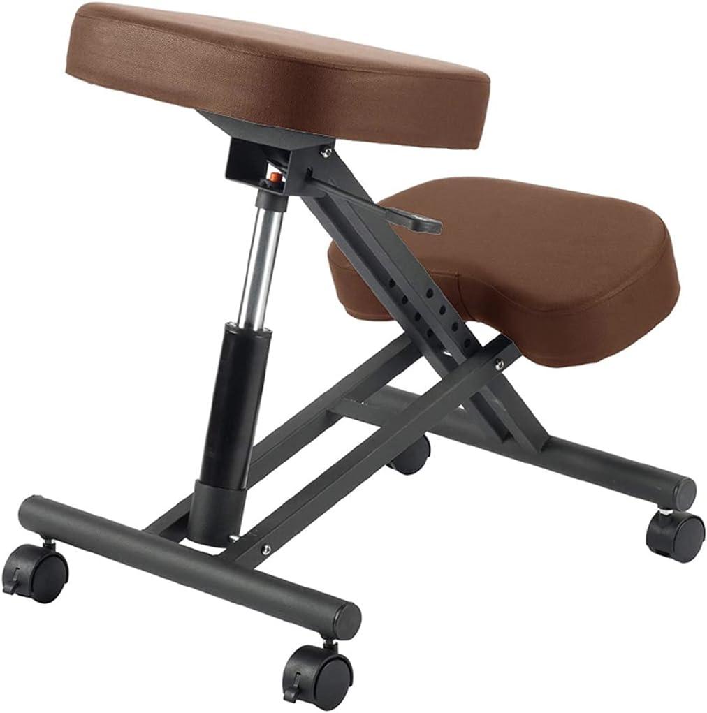 Kneeling Chairs Ergonomic with PU Limited price sale Leather Correcti Elegant Seat Posture