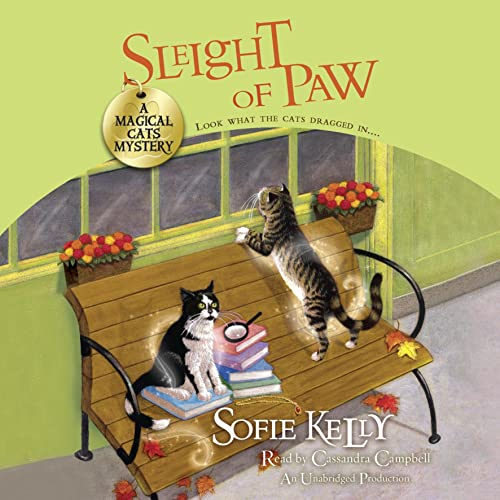 Sleight of Paw Audiobook By Sofie Kelly cover art