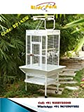 Birds' Park Jaula de cacatúa buena para loro gris cacatúa Sun Conure & Eclectus