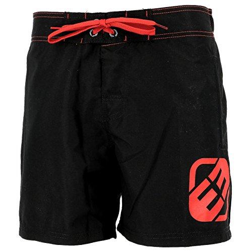 FREEGUN - Unas nr/Rouge Boardshort - Short de Bain - Noir - Taille XL