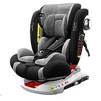 Babify Onboard 360 è il seggiolino auto con un isofix rotante (360º) reboard per i bambini da 0 a 18 kg (gruppo 0 + 1) - regolamento ece r44/ 04; con la massima reclinazione per il tuo bambino Il seggiolino Babify Onboard ha tutti i sistemi di sicure...