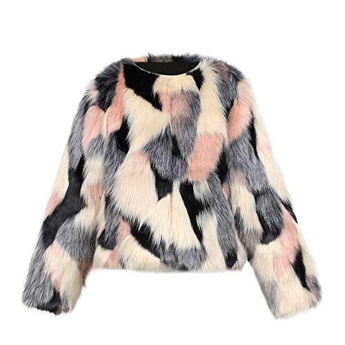 LNGRY Baby Coat,Toddler Teen Kid Girls Fashion Winter Faux Fur Coat Jacket Thick Outwear Clothes (18-24 Months, Pink)