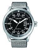 Citizen da uomo orologio da polso al quarzo acciaio inossidabile AW1360–55E