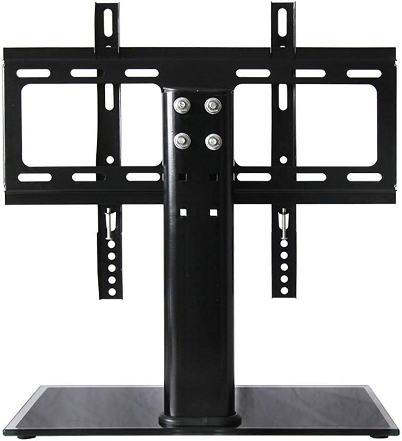Gona Table Top TV Pedestal Stand - Furniture Universal TV Entertainment Center, for 26-32 Inch LED LCD Plasma & Curved Screens Up to VESA 300X400mm and 40 Kg Load Capacity
