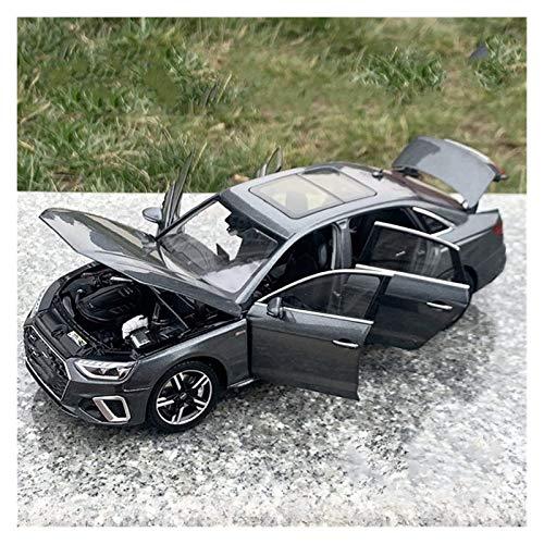 Diecast Model Coche 1:18 Nueva aleación 2020/2017 para Audi para A4L Coche Modelo Escala Classic Car Collection Collection Regalo Juguetes para niños (Color: 2020 Gray) wmpa ( Color : 2020 Grey )