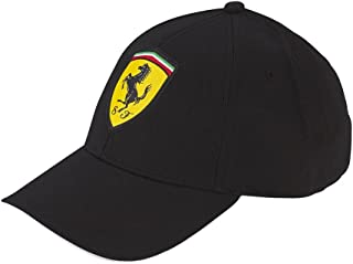 Scuderia Ferrari Classic Kids Adjustable Black Hat