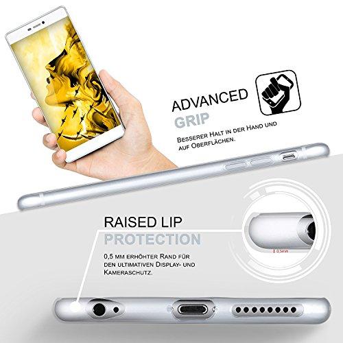 Ultra-Clear Case [Vollständig Transparent] passend für Huawei Honor 6   rutschfest und extrem dünn – Fast unsichtbar, Klar - 4