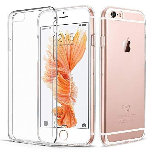 iPhone 6 Plus 6S Plus Hülle, Vkaiy iPhone 6S Plus 6 Plus Schutzhülle, Transparent Ultra Dünn Handyhülle - Soft Silikon Crystal Durchsichtig TPU Bumper Backcover Case für iPhone 6/6S Plus (5,5