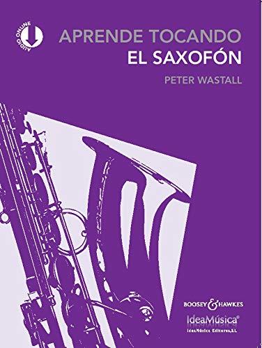 Aprende tocando el saxofón