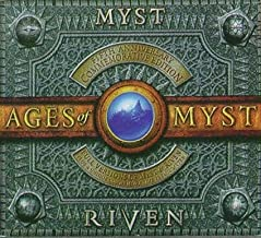 Hardcover Commemorative Journal, Full Versions of Myst & Riven, Playing Guides, The Making of Myst - AGES OF MYST - Fifth Anniversary Commemorative Edition - Full Retail Box - MAC & Windows