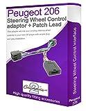 Peugeot 206-Adaptateur câble stéréo pour connecter vos commandes de commande au...