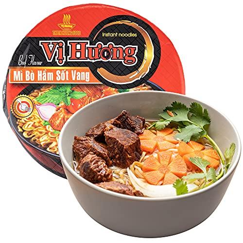 VI HUONG Instant Noodles Bowl – Authentic Vietnamese Instant Ramen...
