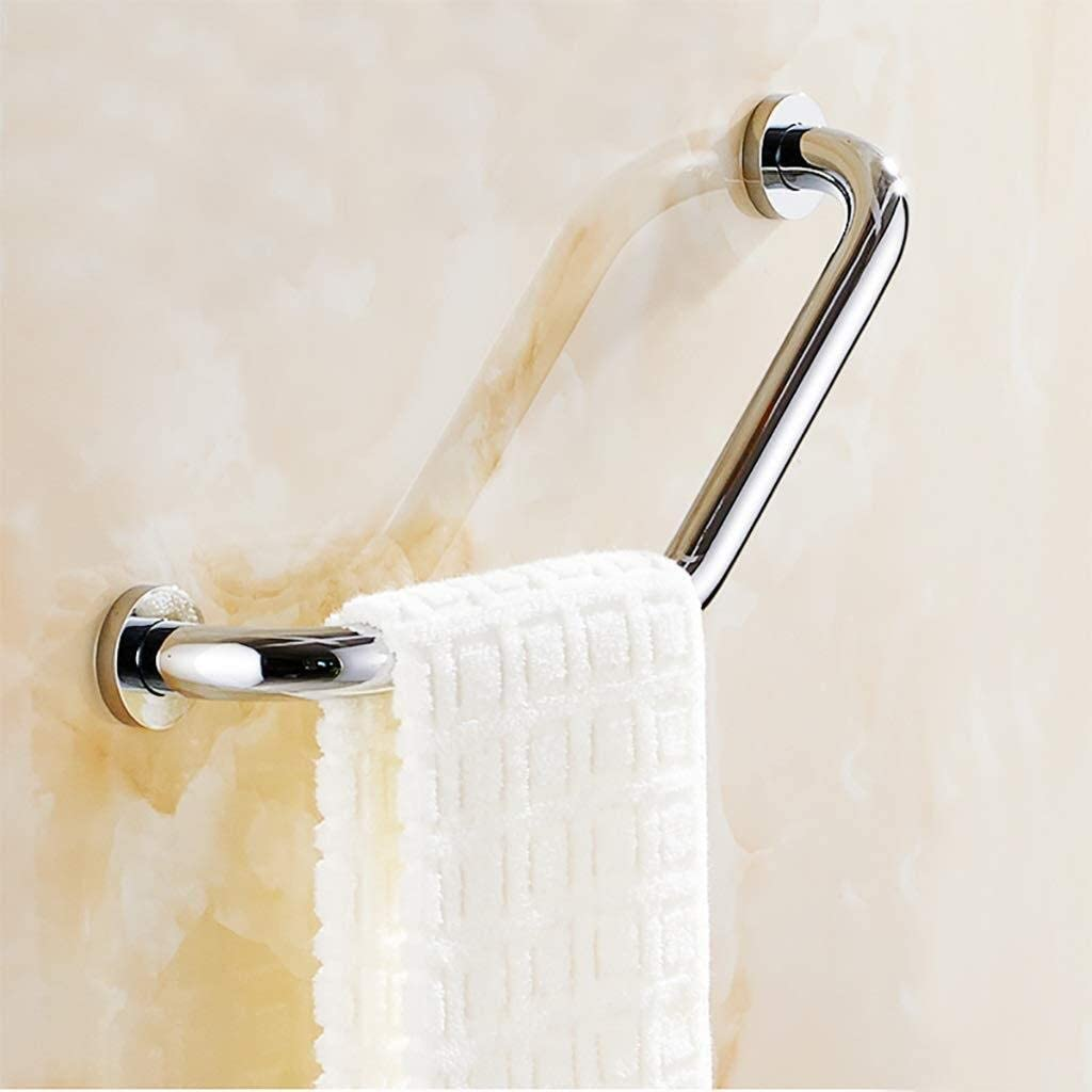 Ranking Max 87% OFF integrated 1st place Handrails ZSPPPP Shower Angled Grab Safety Bathroom Bar Stainles