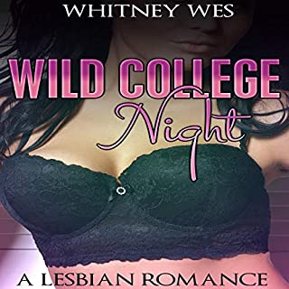 Lesbian: Wild College Night  audiobook cover art