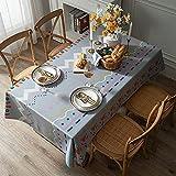 Mantel De Rayas Rosa Verde Azul Amarillo Mantel con Estampado Geométrico Adecuado para Restaurantes Mesas Largas Fiestas Mantel De Café Engrosado Termoaislante Y Resistente A La Temperatura