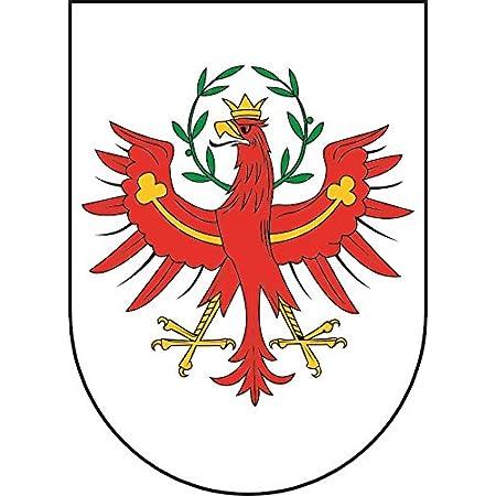 Tiroler Adler Auto Aufkleber Tirol Autoaufkleber Sticker Wappen Schwarz Auto