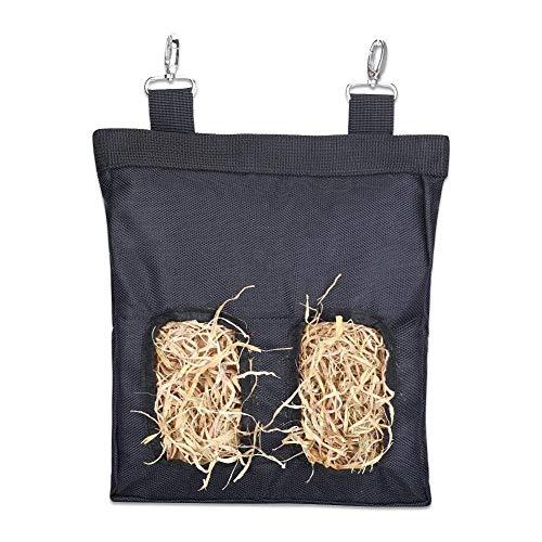Heusäcke für Kaninchen, Kaninchenhals-Beutel, Meerschweinchen Heufütterer, Tierfutter, Meerschweinchen Chinchilla oder kleine Tiere - 23 x 28 x 2.6cm