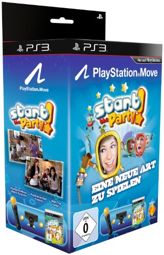 PlayStation Move Starter-Pack mit Start The Party