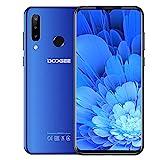 DOOGEE N20 (2019) Dual SIM 4G móviles, 6.3' FHD + Pantalla Smartphones Libres Android 9.0 Core 4GB RAM 64GB ROM, Cámara 16 MP + 16 MP + 8 MP, 4350 mAh - Azul
