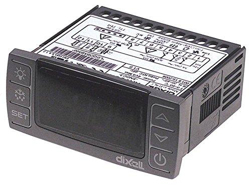 Dixell XR60CX -5N0C1 Elektronikregler für Cookmax 621004, 621005, 622004 230V AC für NTC/PTC -55 bis +150°C Anzeige 3½-stellig