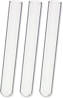Kimble 73500-16100 Borosilicate Glass Unmarked Disposable Culture Tube, 15 ml Capacity, 100 mm Length x 16 mm OD (Pack of 1000)