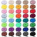 BQTQ 40 Paia Lacci per Scarpe Colorati Lacci Piatti per…
