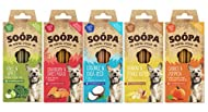 Soopa Dental Sticks Mixed 5 Pack Dog Bones