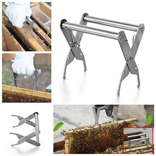 Pwtchenty Nest Clip Bee Hive Frame Grip Holder Lifter Cattura Grip Tool Beehive Gripper Attrezzatura Apicoltore