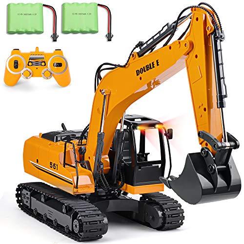 DOUBLE E Remote Control Excavator Toy...