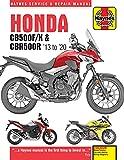 HONDA CB500F/X & CBR500R HAYN: 2013 to 2020 (Haynes Service & Repair Manuals)