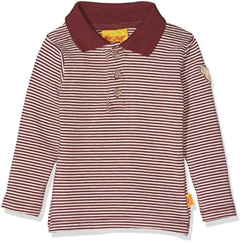 Steiff Steiff Baby-Jungen 1/1 Arm Poloshirt, Rot (Burgundy|Red 2761), 80