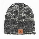 Bluetooth Beanie Hat, Best Gifts for Men/Women Bluetooth 5.0 Unisex Knit Bluetooth Hat Built-in HiFi Stereo Speaker Music Beanie, Best Birthday Gifts Wireless Bluetooth Beanie hat