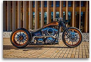 Calvendo HD 1800 CCM Black Pearl Monarch Bobber, 75x50 cm