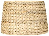 Woven Seagrass Drum Shade 10x12x8.25 (Spider) - Brentwood