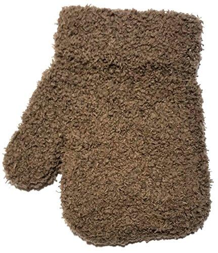Raintopia Moufles pour bébé doux confortables avec sensation thermique chaude Couleurs assorties Marron