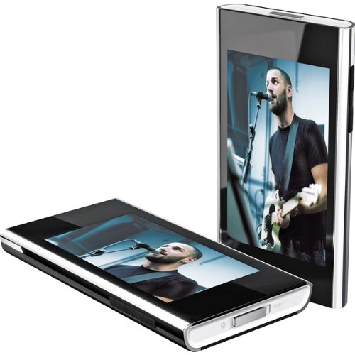 Black 4GB 2.8 Touch Screen Video MP3 Player With FM Radio