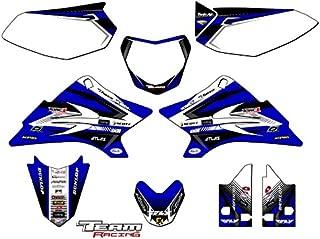 Team Racing Graphics kit compatible with Yamaha 2006-2019 TTR 50, ANALOG Complete Kit