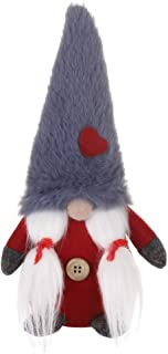 Weixinbuy Swedish Christmas Santa Gnome Tomte Plush Handmade Doll Xmas Home Ornaments Christmas Decoration Table Decor Present