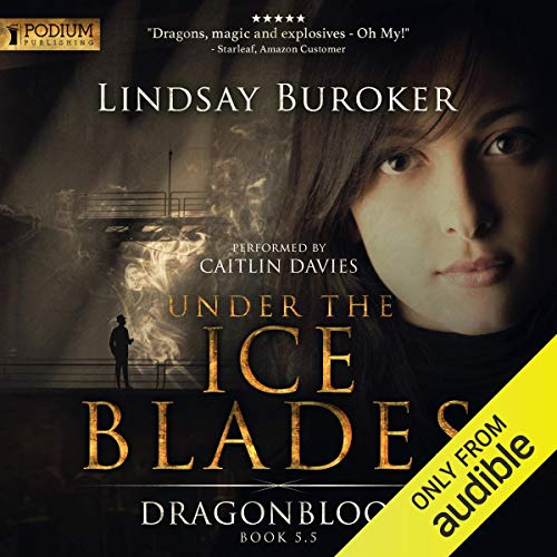 Under the Ice Blades audiobook cover art