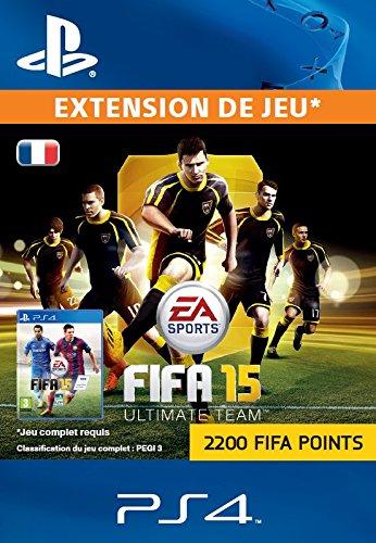 FIFA Points 2200 [Code Jeu PSN PS4 - Compte français]