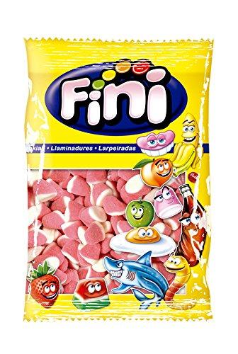 Fini, Bonbons Gélifiés Goût Fraise et Crème, 1 kg