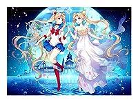 クラシックアニメコレクションジグソーパズルクリスタルプリンセスセレニティ(300/500/1000個)セーラームーンクリスタルプリンセスセレニティ GAME0NO1 (Size : 500pcs)