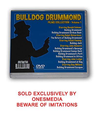 BULLDOG DRUMMOND VOLUME ONE - 10 MOVIES - 7 DVD-R