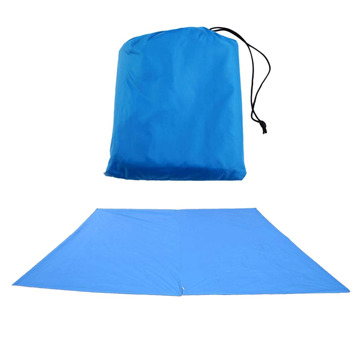 Yardwe Camping Tarp Waterproof Outdoor Lightweight Backpacking Tent Tarp Camping Shelter Blue 300300cm