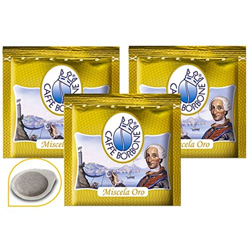 300 Cialde Filtro Carta 44 mm Caffe' Borbone Miscela Oro Originali
