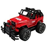 Wonderful Gift Shop High Speed 1:15 Scale Off Road Remote Control Monster Truck Car Vehicle with Big Wheels , Red