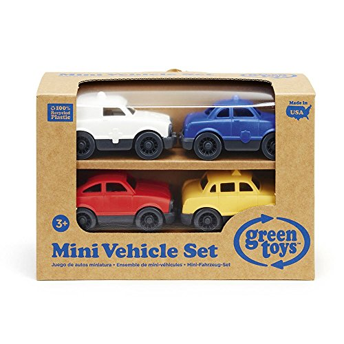 Green Toys Mini Vehicle, 4-Pack